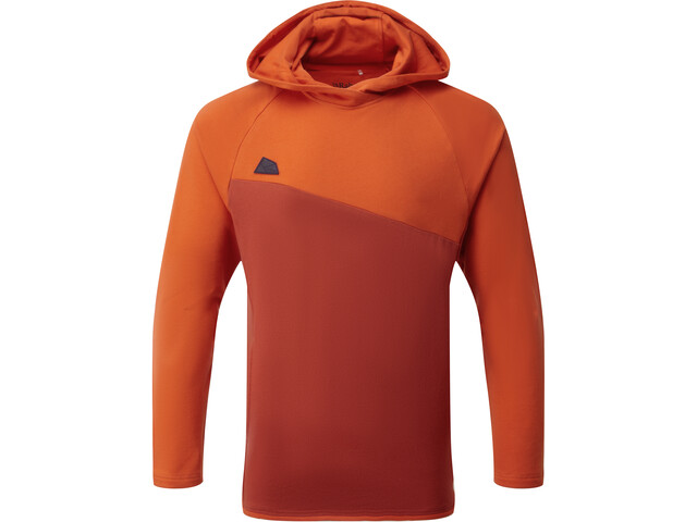 Rab Circuit Pull à capuche Homme, red clay